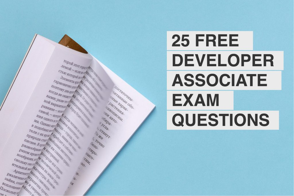 25 free associate developer mock exam questions